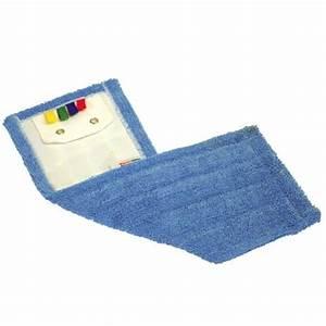 Balai Plat Microfibre : frange de lavage 40 cm microfibre bleu avec languettes et ~ Edinachiropracticcenter.com Idées de Décoration