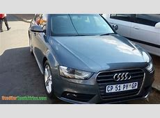 2013 Audi A4 18T used car for sale in Johannesburg City