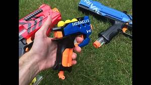 Nerf Mod  The Rival Heracles  First Nerf Rival Pistol