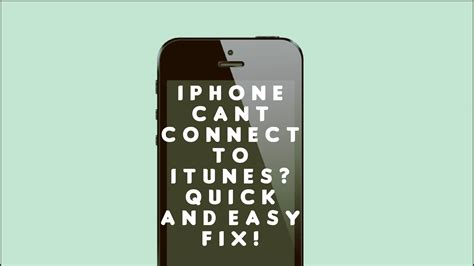how do i connect my iphone to my tv why my iphone 6 cannot connect to itunes