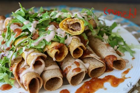 rolled tacos southwest smoky rolled tacos vegan one green planetone green planet