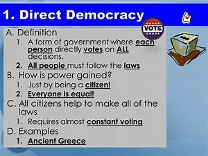 Types of Government Democracy. - ppt download