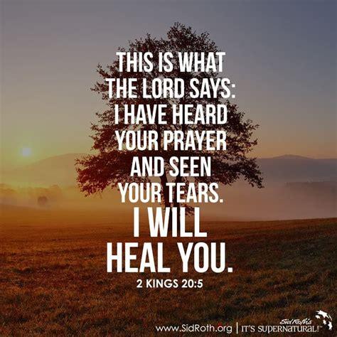 proclaim healing  yeshuas    symptom
