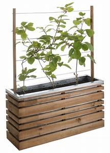 Jardiniere Sur Roulette : 18 jardini res design pour mettre en valeur ses plantes terrasse bac treillis jardini re en ~ Farleysfitness.com Idées de Décoration