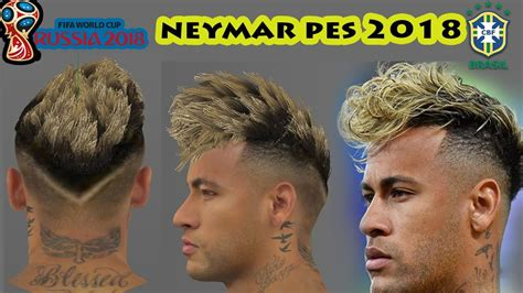pes  neymar  hair world cup update youtube