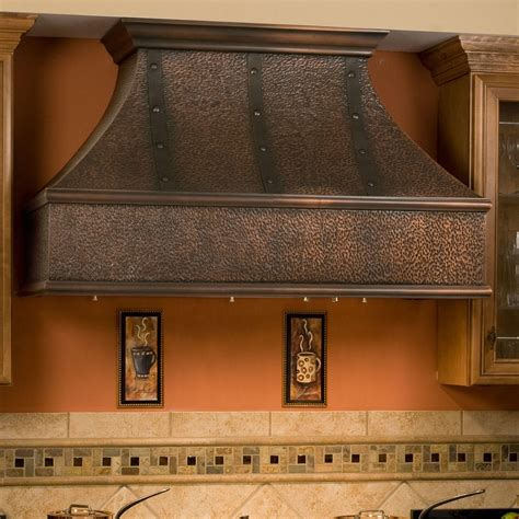 kitchen island stove 48 quot tuscan series copper wall mount range with