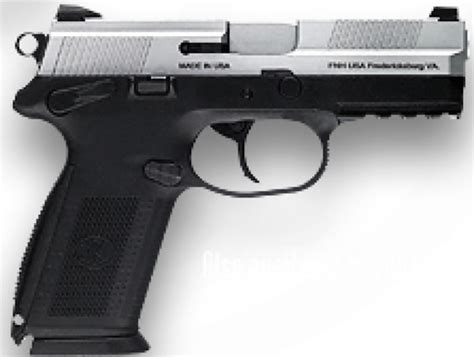 Fn Herstal Fnx-9 Pistol 66838, 9mm, 4 In, Polymer Grip