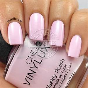 Cnd Shellac Colour Chart Cnd Vinylux Weekly Polish Swatches Chickettes Natural