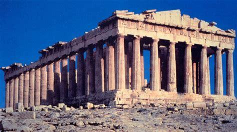 L'architettura Greca Il Partenone Il Partenone è Un Tempio