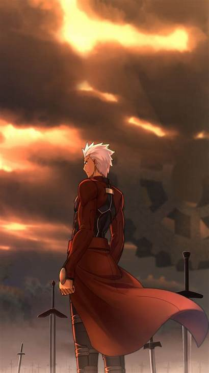 Fate Archer Stay Night Unlimited Blade Works