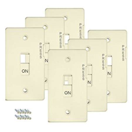 lockable light switch cover e lock switch guard light switch cover 6 pack white