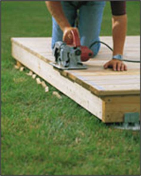 floating deck footings home depot how to build wood deck on ground pdf woodworking