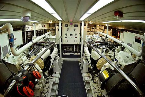 Yacht Engine Room by A Basic Overview Of Yacht Engines