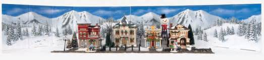 Dept 56 Halloween Village Displays by My Village Backgrounds Bring Your Christmas Village
