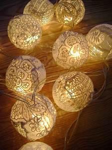 Boule De Lumiere : boule de lumi re guirlande lumineuse pinterest decoraci n zen zen y pantalla ~ Teatrodelosmanantiales.com Idées de Décoration