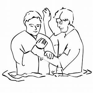 Christian Baptism Clipart