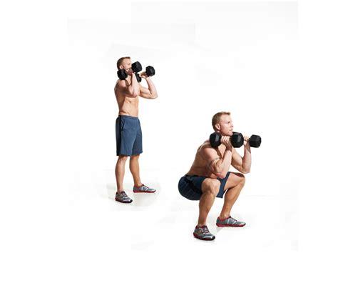 dumbbell front squat video watch proper form get tips