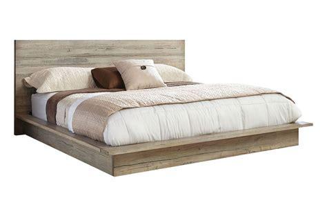 Renewal Reclaimed Wood King Bed at Gardner White