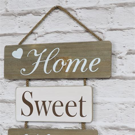 'home Sweet Home' Hanging Wall Plaque  Melody Maison®