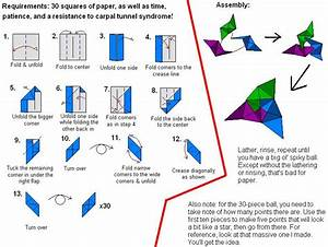 Modular Origami Instructions By Alorathedragon On