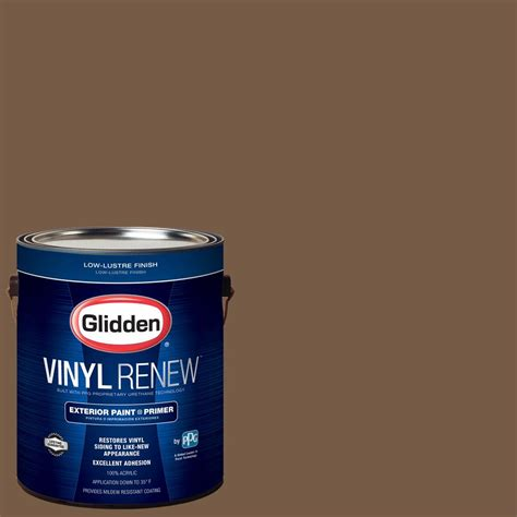 glidden 5 gal hdgo52 brown study low lustre exterior