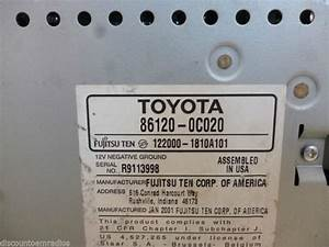 Sell Toyota 86120