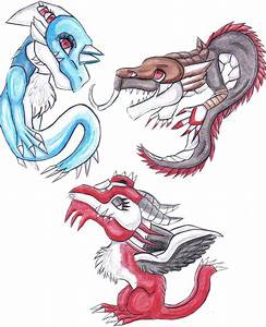 Cute creatures by dragonrace on DeviantArt