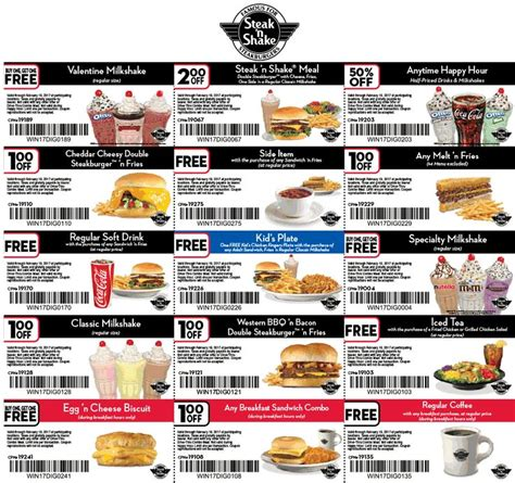 28570 Steak And Shake App Coupons by Best 25 Steak N Shake Coupons Ideas On