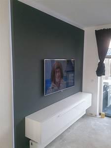 Tv Paneel Wand : tv wand met led verlichting kluswerk nh ~ Sanjose-hotels-ca.com Haus und Dekorationen
