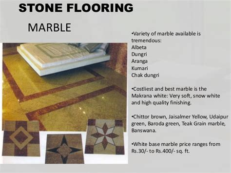 Types Of Flooring Materials Ppt by Flooring And Its Types