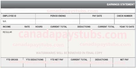 create paycheck stub template free 10 create a pay stub free online pay stub template
