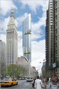 New York Tower Daniel Libeskind