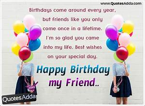 Best Friend Birthday Quotes and Wishes Gifts Greetings ...