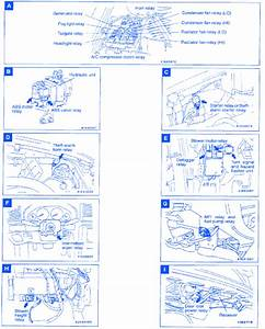 Mitsubishi Galante 1998 Electrical Circuit Wiring Diagram