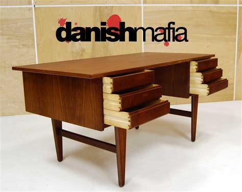 mid century office desk mid century danish modern teak office desk secretary