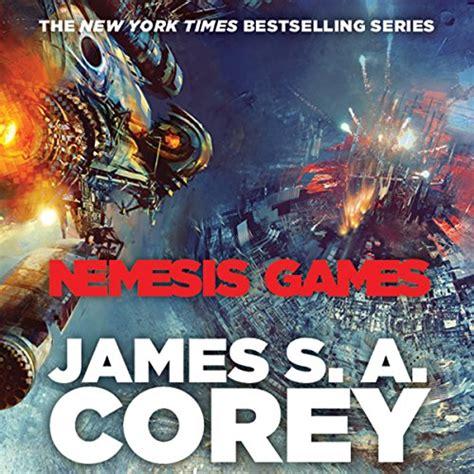 nemesis games audiobook james   corey audibleca