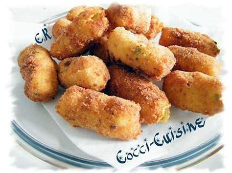 recette de croquettes de pommes de terre au fromage