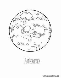 Mars coloring pages - Hellokids.com