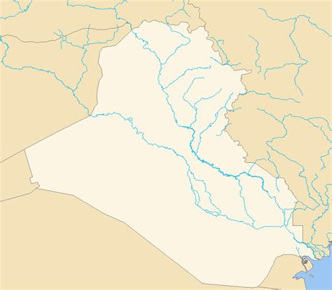 Fileiraq Outline Mappng Wikimedia Commons
