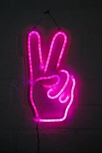 Led Lights For Room Words by Peace Sign Led Light Products In 2019 Neon Lights