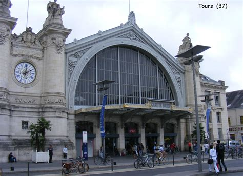 la gare de tours 37 les gares de et leurs infrastructures ferroviaires