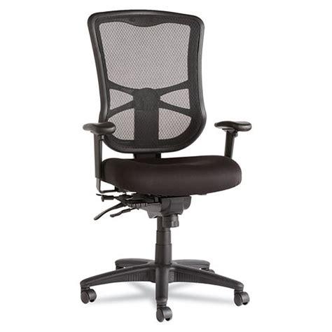 elusion mesh high back multifunction chair black