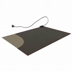 sous tapis chauffant electrique 280x180cm 610w ematronic With tapis electrique chauffant