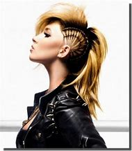 Long Mohawk Hairstyles for Girls