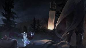 Kindred Vs Lucian - LoLWallpapers