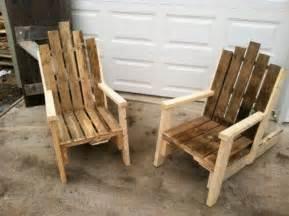 Chair Pallet Furniture Plans