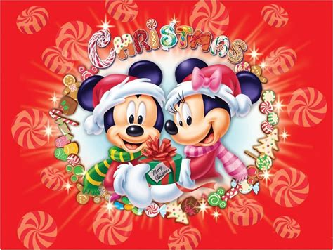 merry christmas wallpaper of disney mickey and 19481 wallpaper cool wallpaper hdwallpaperfun com