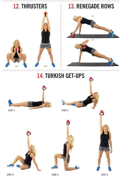 kettlebell workouts exercises workout fat exercise blaster calorie burn routines shoulder body training muscletransform movements fitness