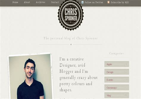 about me page template 40 groovy exles of about me page designs inspirationfeed