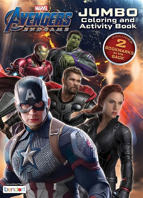 coloring book avengers endgame coloring  activity